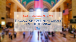 Luggage Storage at Grand Central Station