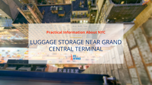 Luggage Storage at Port Authority