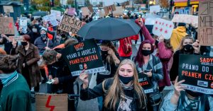 Protests in Poland Over Abortion Regulation Proceed for Sixth Day